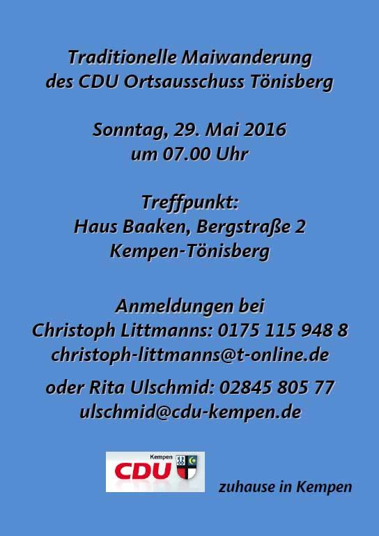 2016-Maiwanderung-CD-Kempen